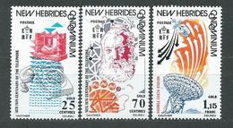 NOUVELLES_HEBRIDES  N°  429/31  **  TB  2 - French Legend