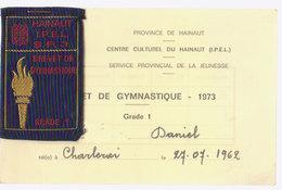 écusson Tissus Gymnastique  1973 - Ecussons Tissu