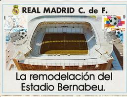 REAL MADRID. España 1980. Edifil 2570/71 - Tríptico. Tamaño Abierto 64,5 X 16 Cm. - Postzegels