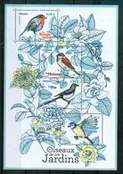France 2018 - Oiseaux De Nos Jardins, Passereaux / Passerines - MNH - Uccelli Canterini Ed Arboricoli