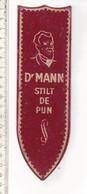 M V  - DR MANN STILT DE PIJN - Advertising