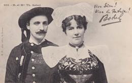 """203 - M Et Mme Th. Botrel """"vive Dieu Vive La Patrie - Bretagne"""
