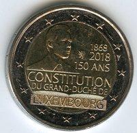 Luxembourg 2 Euro 2018 150 Ans De La Constitution UNC - Luxembourg