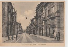 Cartolina - Castellammare Del Golfo - Corso Garibaldi - Trapani