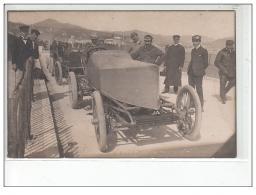 Voiture De Course : Carte Photo Vers 1905 (automobile) - Très Bon état - Postcards
