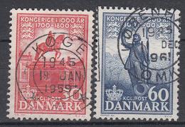 DENEMARKEN - Michel - 1955 - Nr 353/54 - Gest/Obl/Us - Danemark