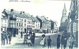 Belgique Verviers - Place Sauzy - Feldpost Expédiée De Aachen à Destination De Heiligenstein (Alsace) - Verviers