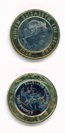 FALKLAND ISLANDS  -  2004  £2 Bimetalic UNC Coin - Falkland