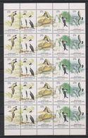 AAT 1983 Antarctic Wildlife Strip Of 5v (5x) ** Mnh (39490) Horiz. Folded - Australisch Antarctisch Territorium (AAT)