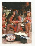 Cp, GUYANNE , Indiens WAYANAS Du HAUT MARONI , écrite, Ed. Tillet , N° 13 - Guyane