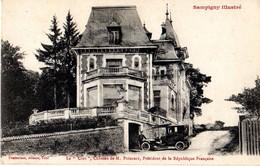 SAMPIGNY - LE CLOS - CHÂTEAU DE M.POINCARÉ - PRÉSIDENT DE LA RÉPUBLIQUE FRANÇAISE - Other Municipalities