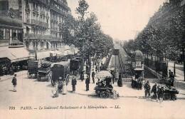 France - 75 - Paris - Le Métropolitain Boulevard Rochechouart - Stations, Underground