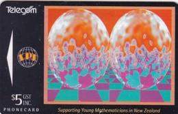 New Zealand, NZ-D-027, Magic Eye Eggs, 2 Scans. - New Zealand
