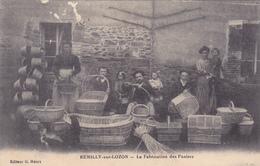 (12)   REMILLY Sur LOZON - La Fabrication Des Paniers (Traces D' Eraflure Ht Gauche !!) - Frankreich