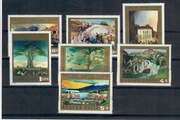UNGHERIA - 1973 - 120° ANNIV. NASCITA DI CSONTVARY, PITTORE. SERIE COMPLETA - MNH** - Ungheria