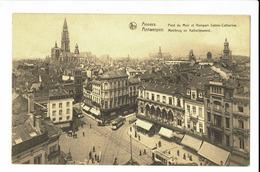 CPA - Carte Postale -BELGIQUE - Antwerpen -Pont De Meir Rempart Ste Catherine - S1171 - Antwerpen