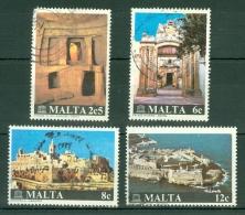 Malta: 1980   International Restoration Of Maltese Monuments Campaign   Used - Malta