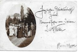 BZ534 - BOLZANO - FOTOGRAFICA - GRUPPO FAMILIARE - DA BOLZANO A SARNTHEIN SARENTINO)  -  F.P - VIAGGIATA 1912 - Bolzano (Bozen)