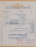 64 272 ORTHEZ PYRENEES 1944 Sandalette CH. GIRARD Marque GO à GOUTALAND ( Sandalettes ) - Vestiario & Tessile