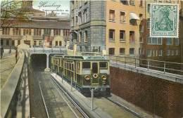 Deutschland - Hamburg - Untergrundbahn An Der Börse - Germany