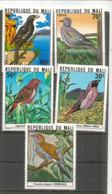 Oiseaux Du Mali: Tourterelle,Cordon Bleu, Alecto à Bec Blanc., Etc.  5 Timbres Neufs ** - Columbiformes