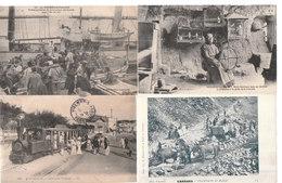 Lot De 100 Cartes Postales Anciennes Diverses Variées - Très Très Bon Pour Un Revendeur Réf, 232 - Postcards