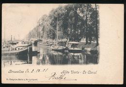BRUXELLES = ALLEE VERTE - LE CANAL - Maritiem