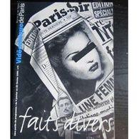 Catalogue Vidéothèque De Paris : Faits Divers. 1996. 50 Pages - Merchandising