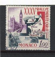 MONACO - Y&T N° 689° - 35ème Rallye Automobile De Monte-Carlo - Gebraucht