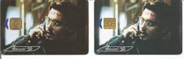 "2 Télécartes CINEMA JOHNNY DEEP "" La 9eme Porte "" 50 U GEM2 Et OB1 - 11/00 Utilisées (N° 1079 - 1079 A) - Francia"