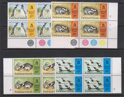 Falkland Islands 1997 Magellanic Penguins 4v Bl Of 4 ** Mnh (39493) - Falklandeilanden