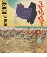 7936 Depliant 4 Ante BOARIO TERME Brescia 1939 Illustrato Bello - Advertising