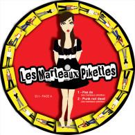 Les MARTEAUX PIKETTES - EP - 442eme RUE - PICTURE DISC - Punk