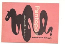 7941 CARTA ASSORBENTE PUBBLICITARIA PANTOPON Farmaco OPPIO CALMANTE SEDATIVO - Advertising