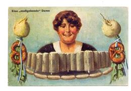 """8000 MÜNCHEN, BIER, """"Eine Maßgebende Dame"""", 1932 - Muenchen"""
