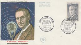 Enveloppe  FDC  1er  Jour    FRANCE     Maurice  BOURDET     MARSEILLE    1964 - 1960-1969