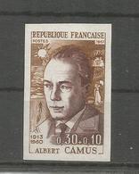 FRANCE COLOR PROOF ALBERT CAMUS PREMIO NOBEL LITERATURA WRITER - Nobel Prize Laureates