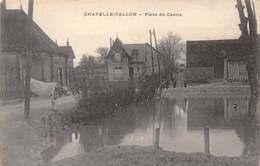 10-CHAPELLE-VALLON- PLACE DU CENTRE - France