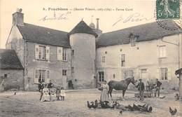 10-FOUCHERES- ENCIEN PRIEURE 1087 1789 FERME CARRE - France