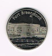 &-  BELGIAN HERITAGE COLLECTORS COIN  FORT  BREENDONK - Tokens Of Communes