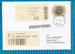 Austria Einschreiben Couvert 3040 Neulengbach - Entiers Postaux