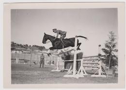Sanremo, Concorso Ippico Internazionale, Primarosa, Maggiore Morigi - Original Photo - Equitation
