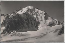 L'Aiguille D'Argentiere Vue De La Fenetre De Saleinaz - Photo: E. Gyger No. 9053 - VS Valais