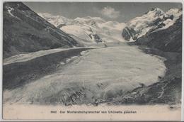 Der Morteratschgletscher Von Chünetta Gesehen - GR Grisons