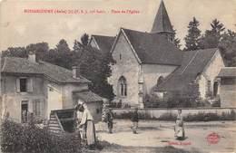 10-BOSSANCOURT- PLACE DE L'EGLISE - France