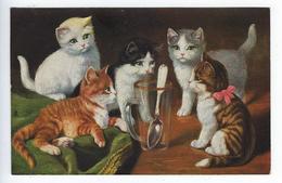 CPA Chats Chaton Jeu Humour O.G.Z.L. 169 - Cats