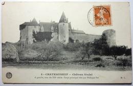 CHÂTEAU FÉODAL - CHATEAUNEUF - Other Municipalities