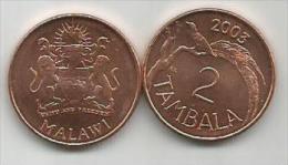 Malawi 2  Tambala 2003. UNC - Malawi