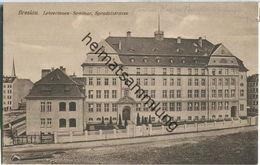 Wroclaw - Breslau - Lehrerinnen-Seminar - Sprudelstrasse - Verlag Siegfried Weissmann Breslau - Schlesien
