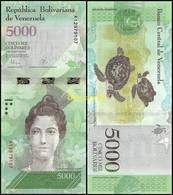 Venezuela - 5000 Bolivars 2017 UNC - Venezuela